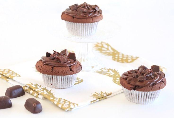 Chocolademuffins met chocotof - Chickslovefood.com
