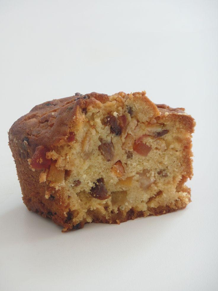 Cake Anglais aux fruits confits - Olivia Pâtisse