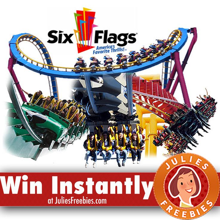 Facebook Twitter PinterestHere is an offer where you can enter to win Welch's Fruit Snacks Six Flags Sweeps & Instant Win Game. PRIZES – (25) Grand Prizes – Two (2) single – day general admission tickets to a Six Flags US Theme park valid for the 2017 operating season. (200) First Prizes – (1) sixView Deal