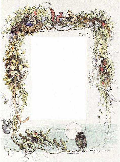"Richard Doyle (1824-1883), ""Pictorial border of elves and sprites"" by sofi01, via Flickr"