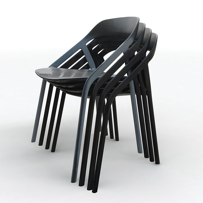 LessThanFive Chair By Michael Young For Coalesse | A Carbon Fiber Frame  Makes The Stackable