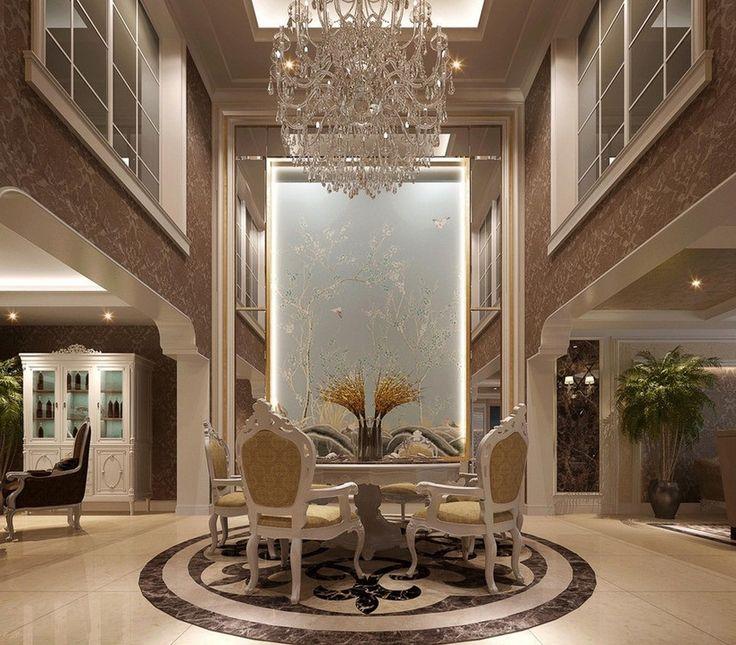 Home Interior Design Ideas Hall: Luxury Entrance Hall Decorating Ideas