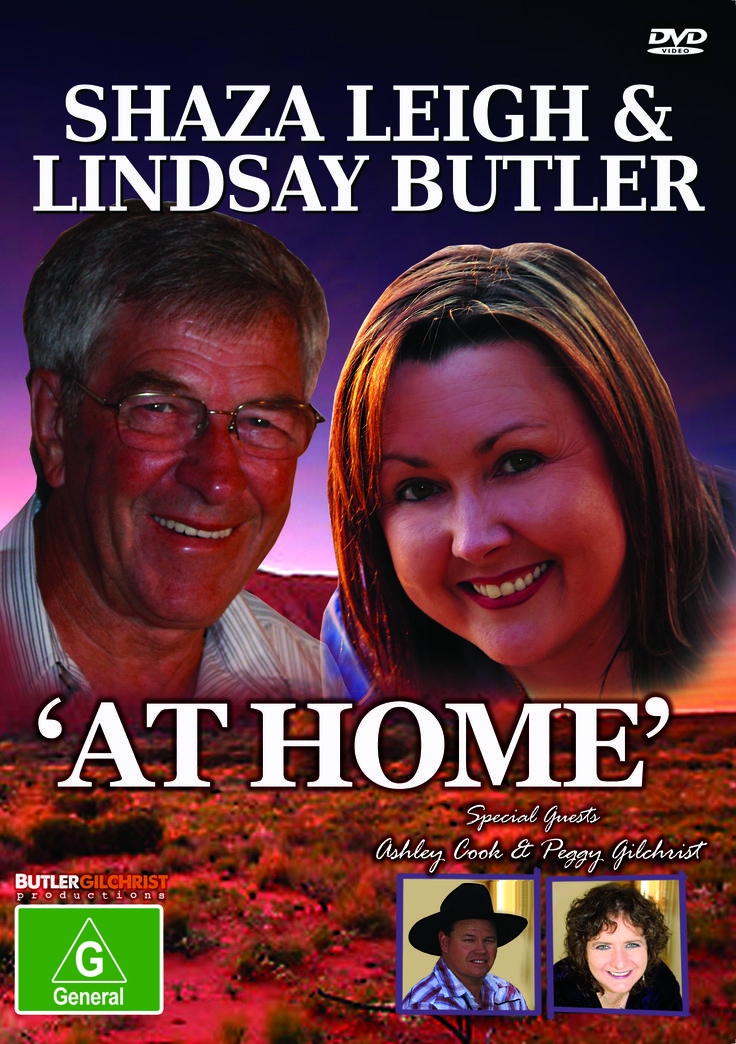 This was the second foray into DVD productions for Lindsay Butler & Shaza Leigh. This particular DVD, At Home, features song clips from the 2012 touring team including Ashley Cook & Peggy Gilchrist. Released 2012 and is still available from LBS Music Distribution - BGP001. #ShazaLeigh