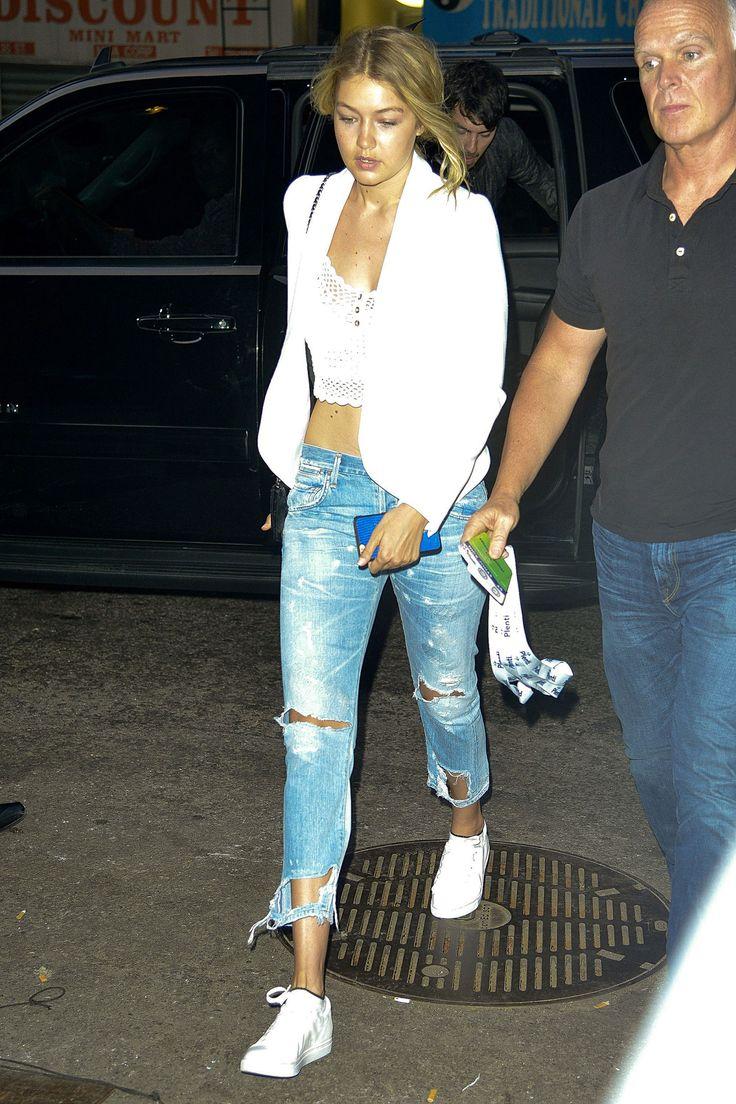Gigi Hadid Wears Her Love For Fellow Models Cara