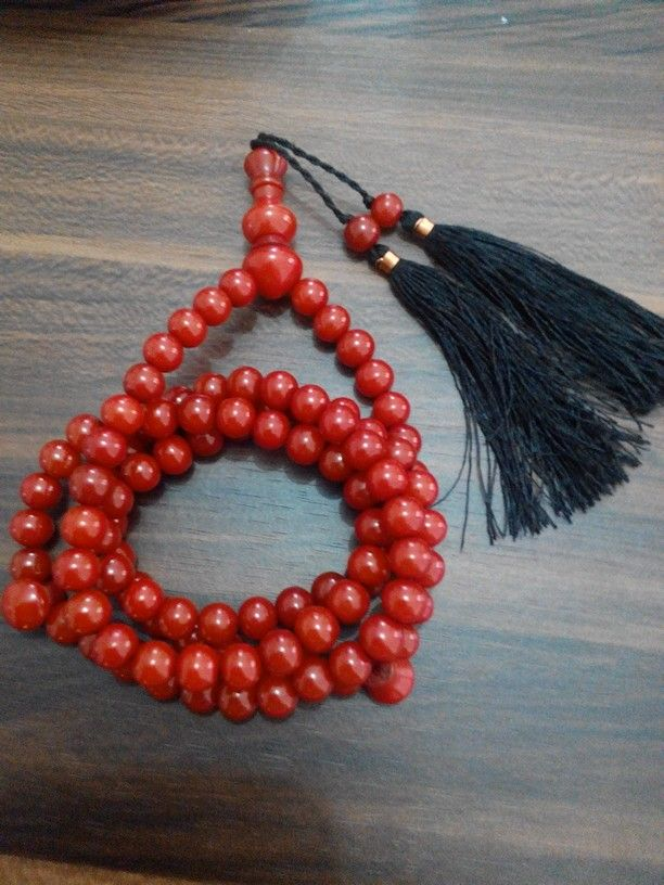 Tasbih pocok (buah gebang) 8mm isi 99. Check www.indonesianhandycraft.com for more info.
