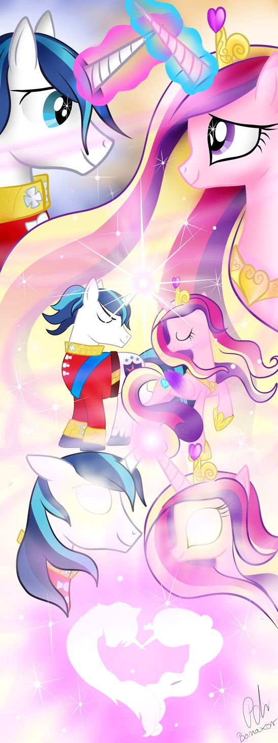 Cadence and shining Armor are so cute