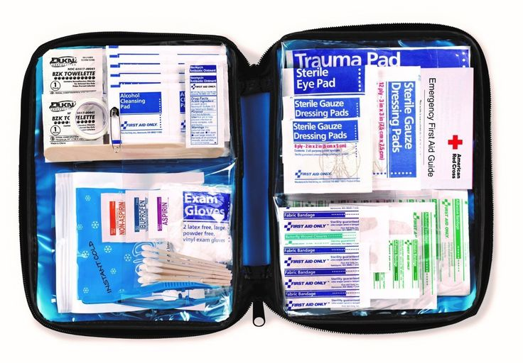 First Aid Only FAO-428 First Aid Kit, 131 Piece, Fabric Case