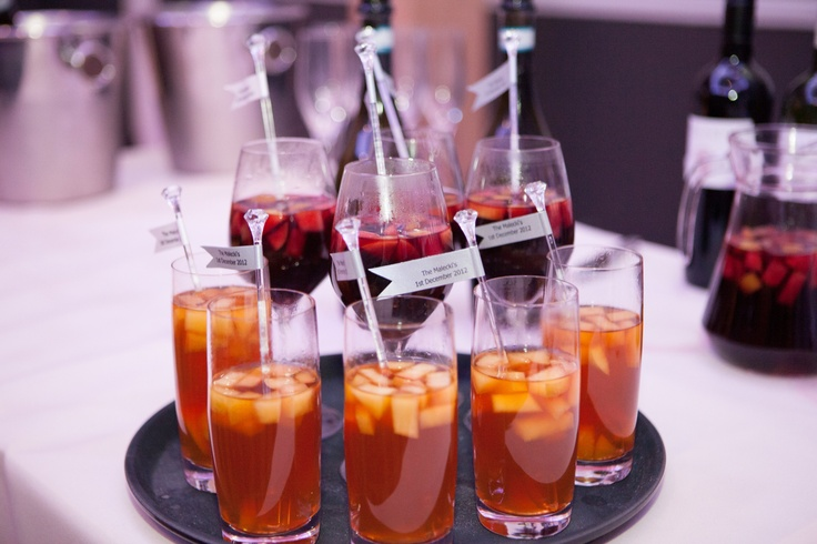 Winter pimms and mulled wine