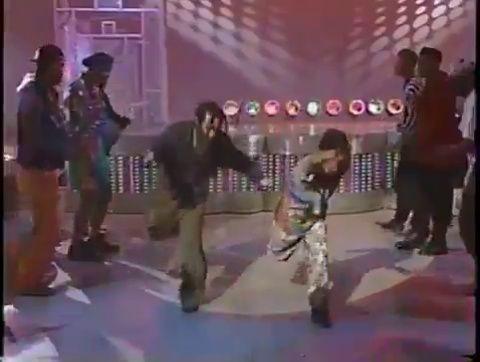 Soul Train line, ca. 1990s. (CLICK FOR VIDEO)