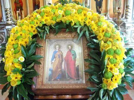 украшение церкви цветами: 13 тыс изображений найдено в Яндекс.Картинках