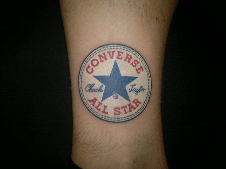 converse all star chuck taylor tattoo tattoos pinterest converse taylors and chuck taylors. Black Bedroom Furniture Sets. Home Design Ideas