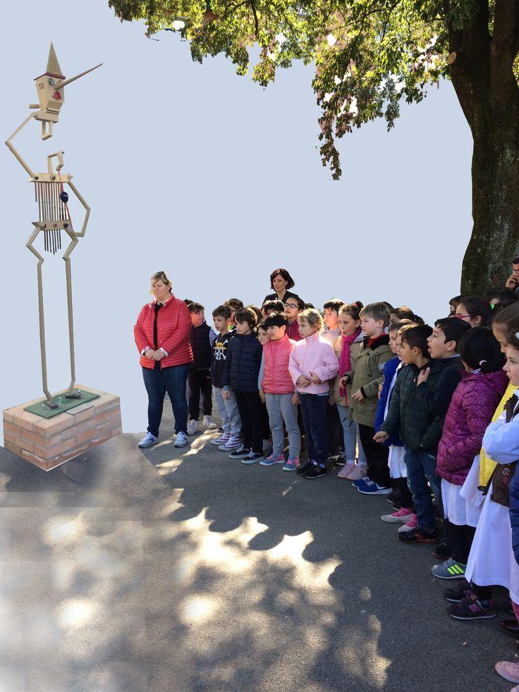 Monumento a Pinocchio, Pescia (PT) 2017