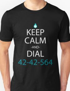 soul eater keep calm and dial 42-42-564 anime manga shirt T-Shirt