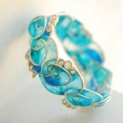 Paper/wire jewelry