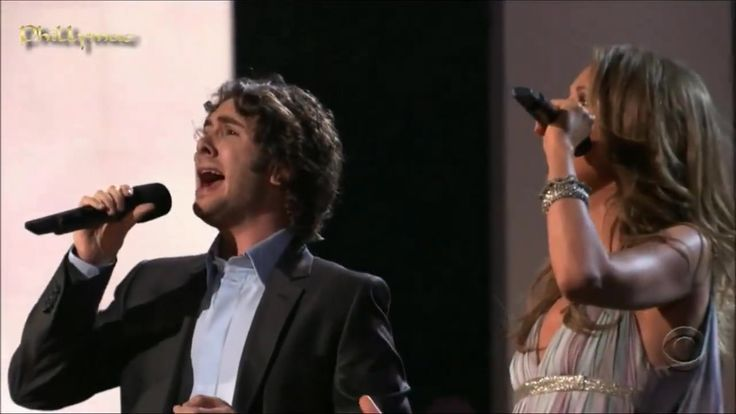 Josh Groban and Celine Dion Sing a Heavenly Duet of The Prayer ... This is one of music's finest moments.