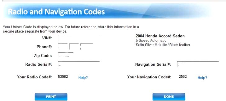 30 Honda Accord Radio Serial Number Ge7o Honda Accord Radio Teaching Process