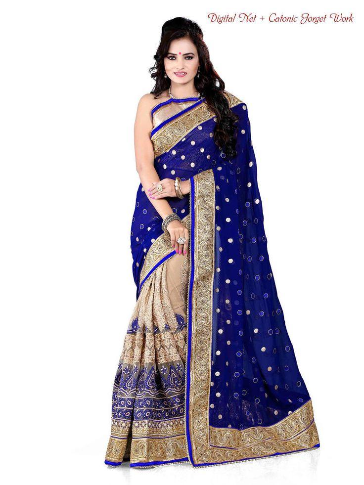 Wedding Party Pakistani Dress Ethnic Sari Bollywood Indian Designer Saree 1965 #Kriya #TraditionalSaree