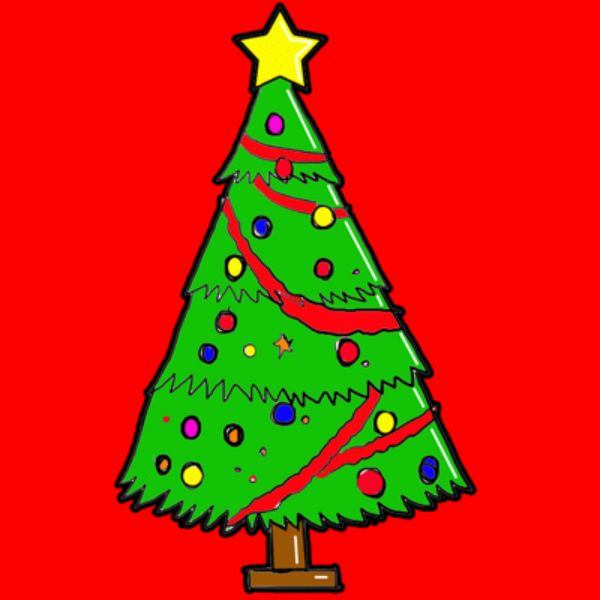 15 Diy Christmas Tree Drawings To Do With The Kids Tree Drawing Cartoon Christmas Tree Christmas Tree Drawing