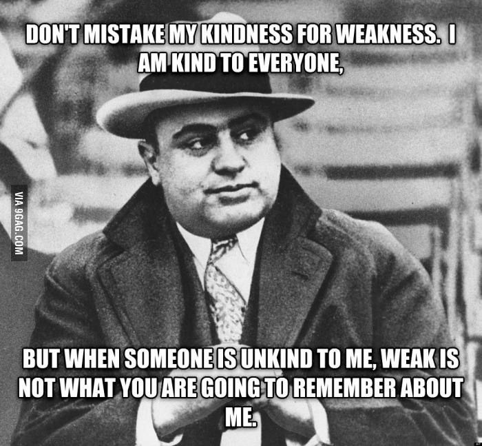 Is this really where this quote comes from? Wow! . Happy belated Birthday to Al Capone. One of my favorite quotes.