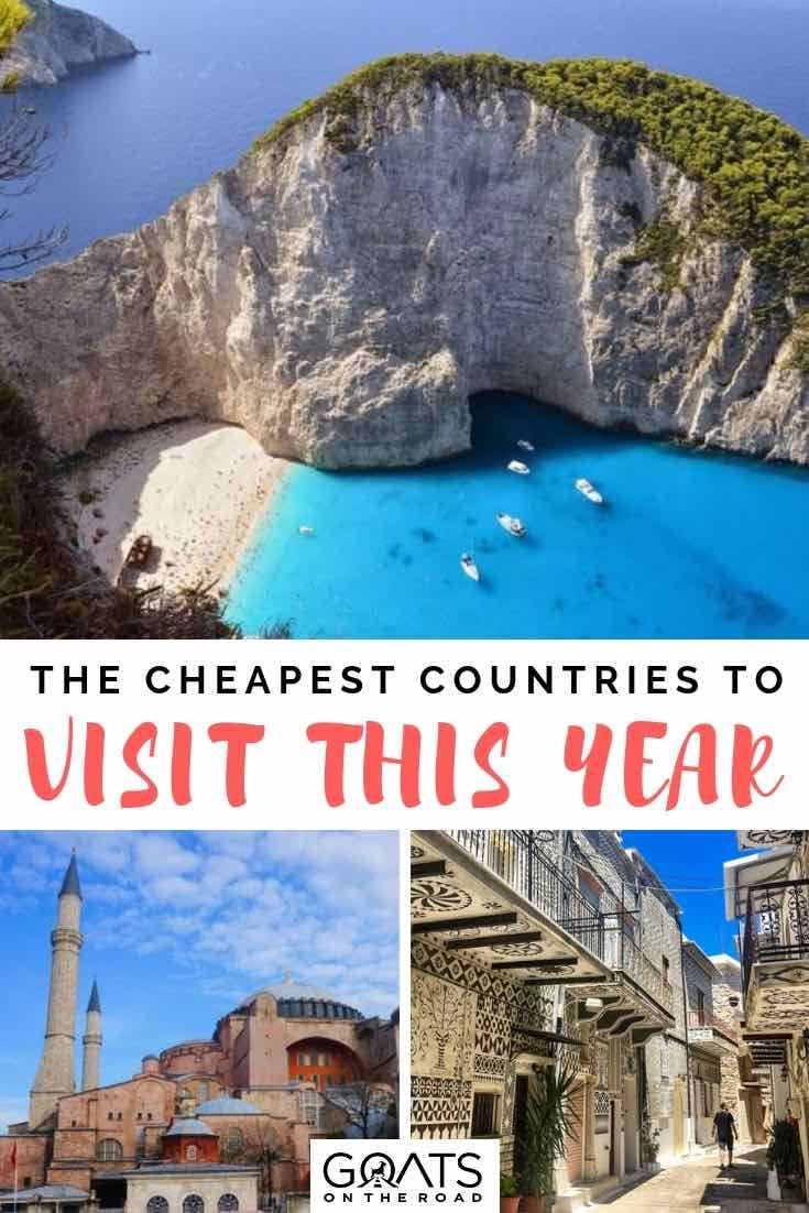 Top 10 Cheapest Countries To Visit This Year Travel Destinations Affordable Travel Cheap Destinations Countries To Visit