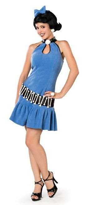 <p>Get Bamm-Bamm a babysitter, it's party time in this women's Betty Rubble fancy dress costume by Rubies. Officially licensed <strong>The Flintstones</strong>, this Betty Rubble costume is perfect for your tv character costume party. See description and sizing below.</p>