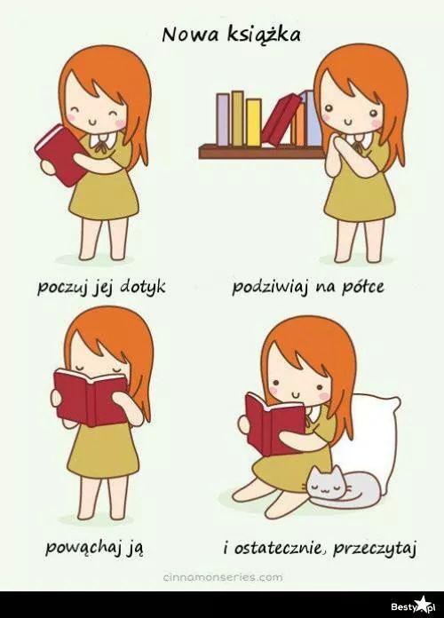 Instrukcja obsługi nowej książki ;))