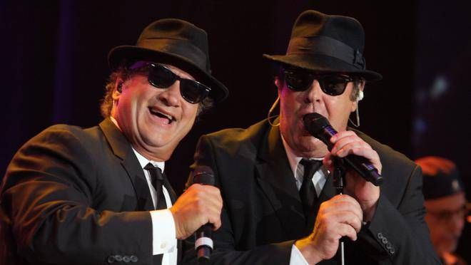 The Blues Brothers (Jim Belushi and Dan Aykroyd) will perform at the ninth edition of the Dutch Mason Blues Festival, Aug. 9 to 11, at the Truro Raceway & Exhibition Grounds. (CONTRIBUTED)