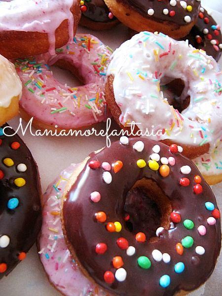 Le mitiche ciambelle di Homer, i donuts, ideali per le festicciole dei bambini, amate da grandi e piccini.
