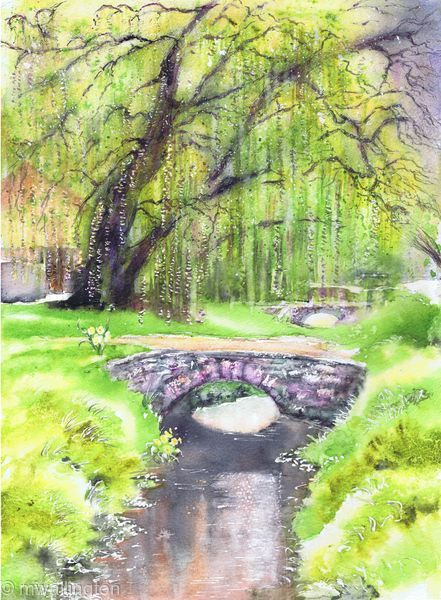 Little Bridge and Willow, Clanfield