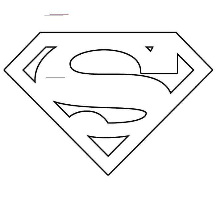 Superherocrafts In 2020 Schablonen Vorlagen Superman Vorlagen