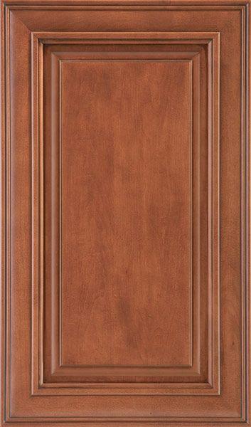 Upgraded Level 7 Sierra Vista Cabinet In Auburn Glaze With Soft Closure