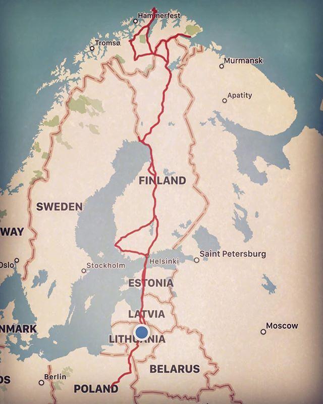 World Map Moscow%0A Tallin   saab  winter  nordkapp  expedition        saab  ng  cold