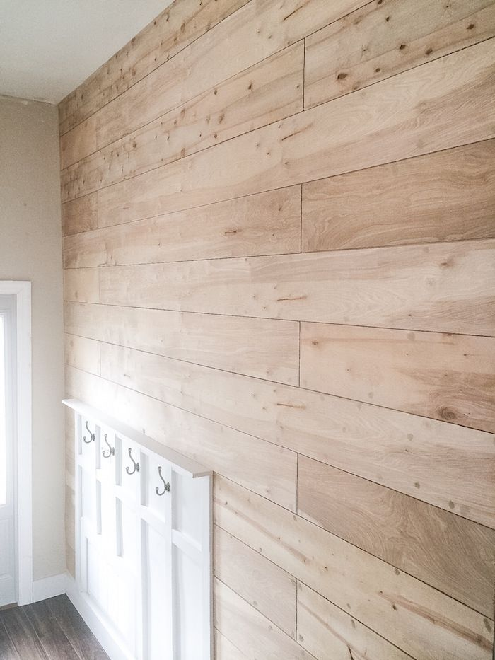 Shiplap tutorial with lindsey west portable compressor for Plywood wall sheathing