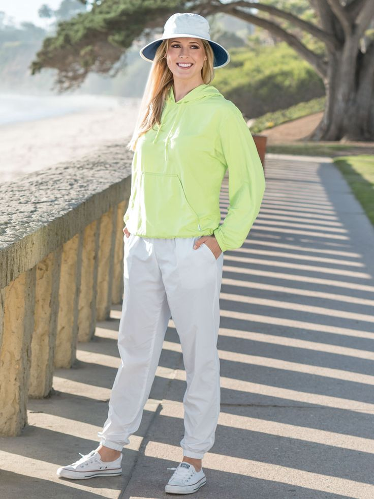 """<h2 class=""""mti_font_element"""">Consider yourself-warned: Our Cuffed Jogger Pants are so comfortable, you may find yourself coming back for more. Styled in our soft and breezy Solumbra I, these go-to sun protective bottoms feature a relaxed concealed elastic waistband (with an adjustable drawcord) and ankle cuffs along with handy side entry pockets.</h2>"""