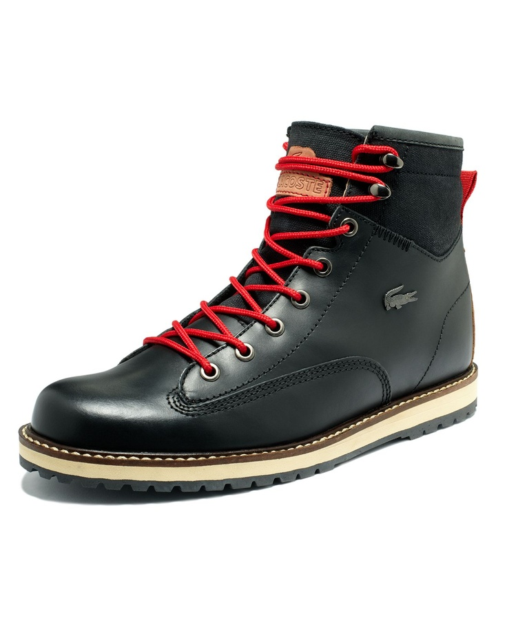 #Lacoste Shoes Monserate #Leather #Boots $165.99