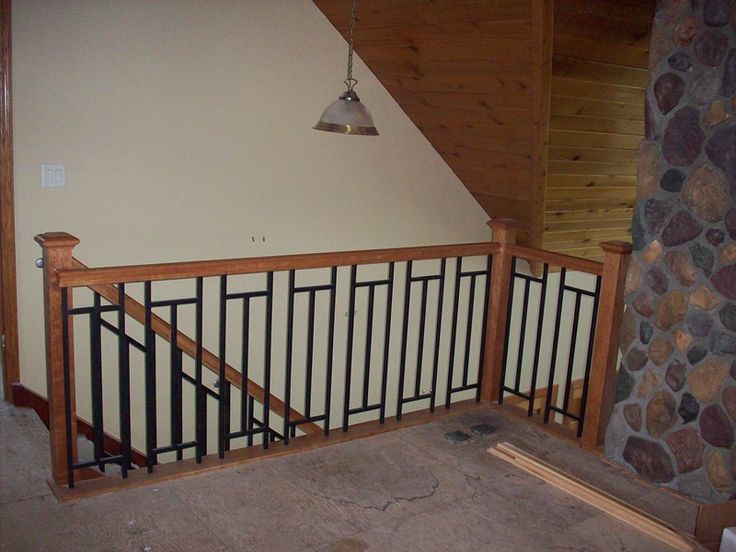 Tiles and railings northfield construction company for - Interior stair railing contractors ...
