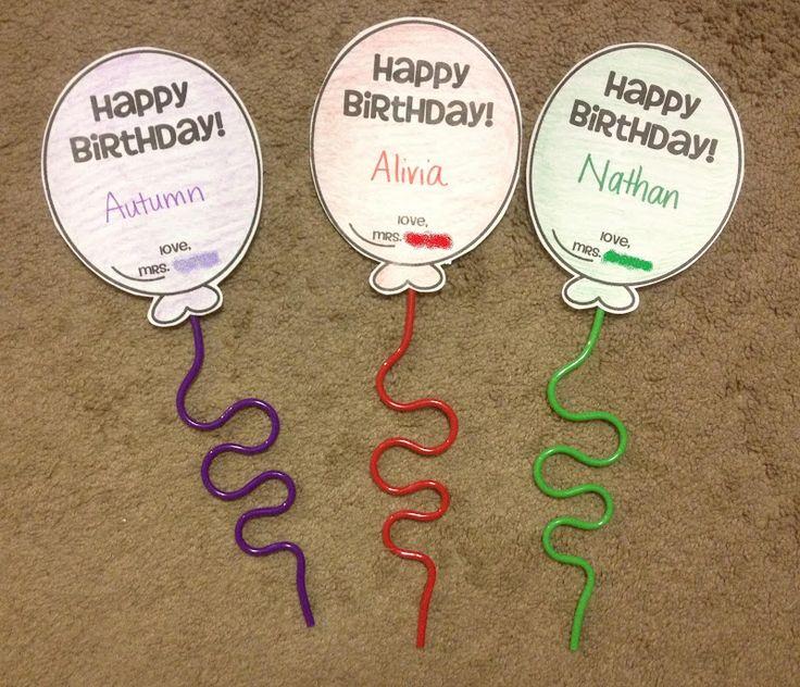 Classroom Birthday Ideas Non Food ~ Best non food classroom birthday treats images on