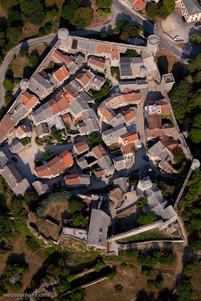 ✈️ Photo aérienne de : La Couvertoirade - Aveyron (12)