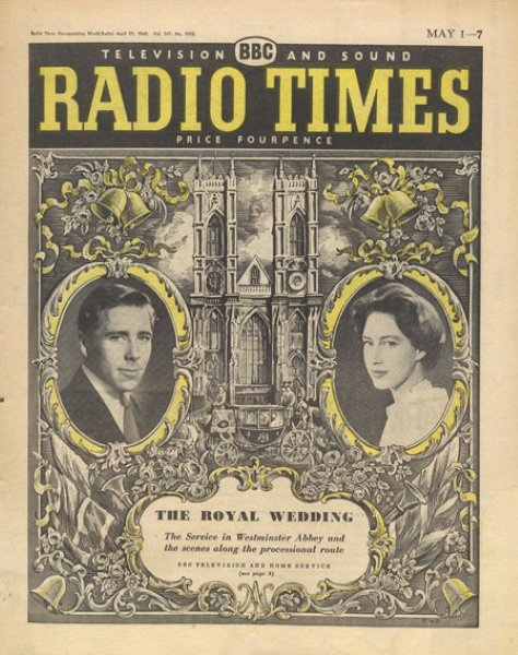 Radio Times Royal Wedding 1960