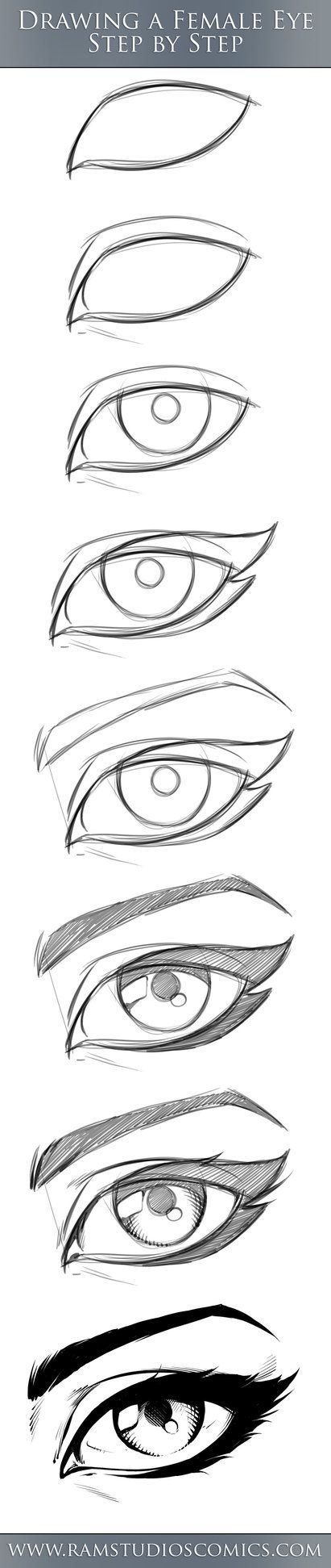 Como dibujar ojos -_+