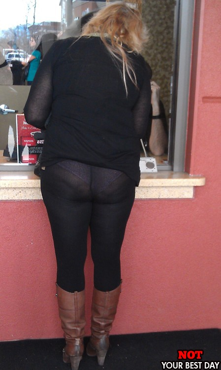 Read pantyhose are not pants