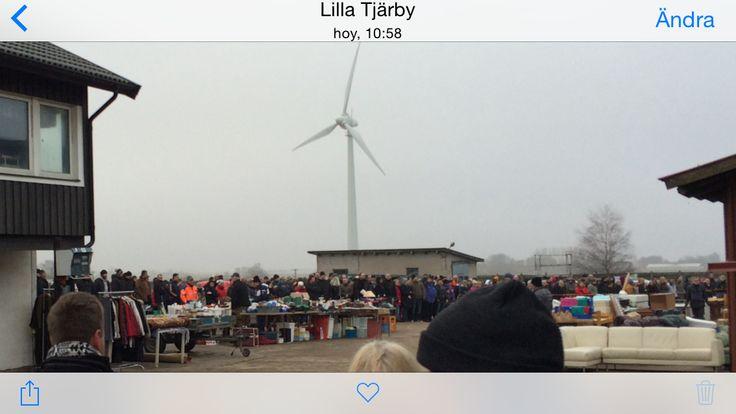 Morfars Lada: Loppis i Laholm på alla hjärtans dag