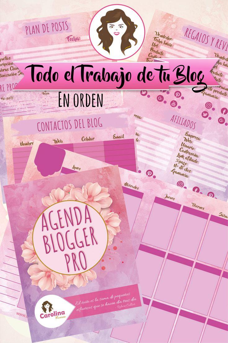 Organiza tu blog.  La solución para organizar tu trabajo en el Blog