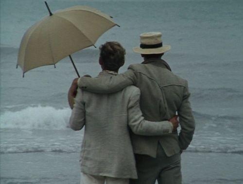 Brideshead Revisited (1981) - rain in Venice