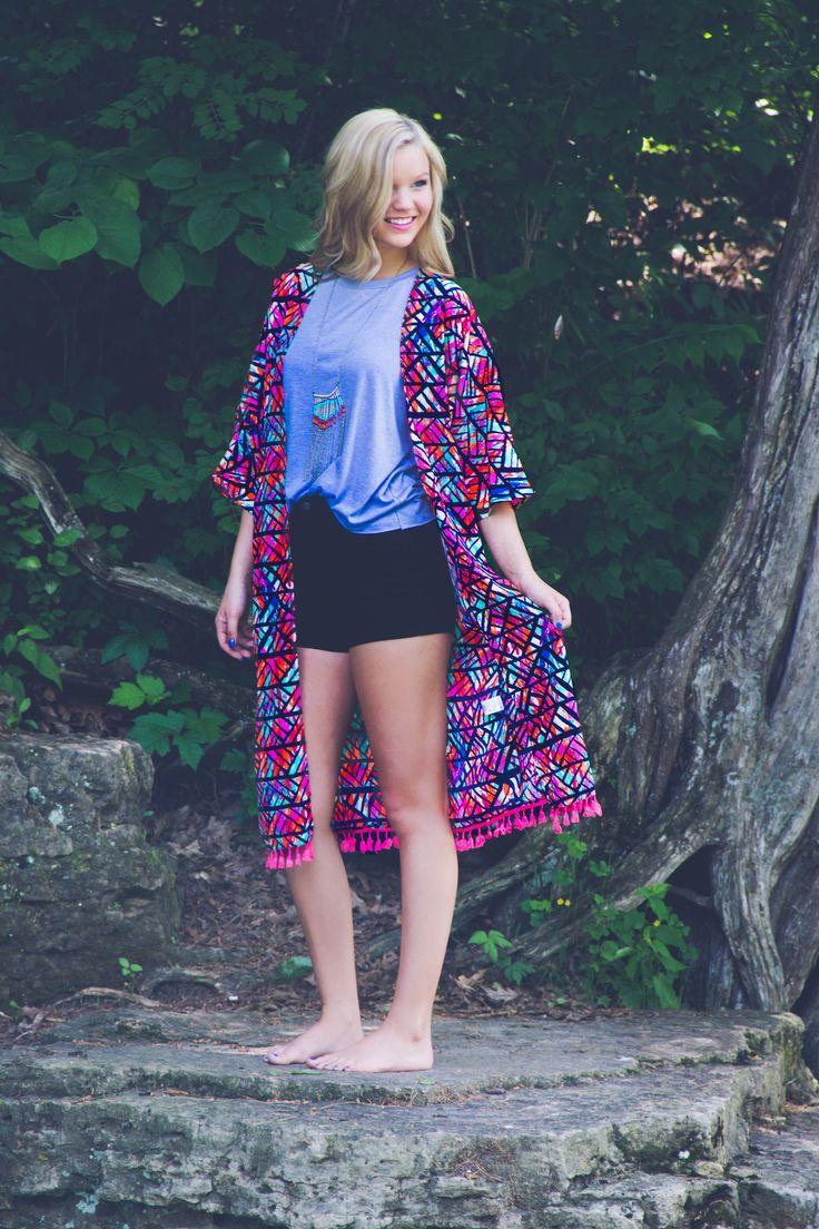 Pelican Point Kimono   UOIOnline.com: Women's Clothing Boutique