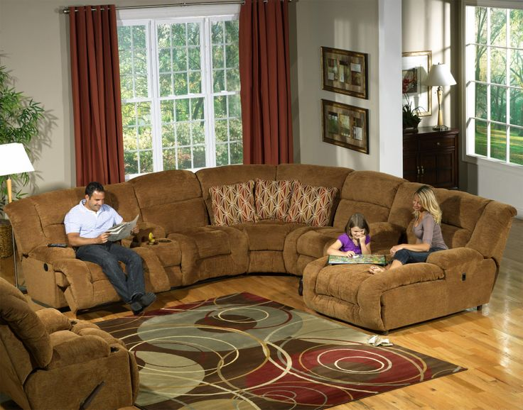 Sofa Beds Catnapper Enterprise Piece Sectional Sofa with Cupholders in Camel