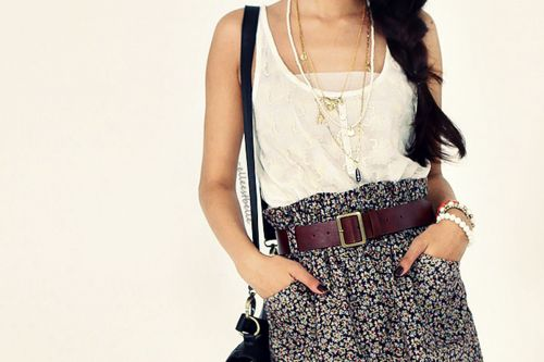 i want this!Fashion, Summer Outfit, High Waist, Skirts, Style, Clothing, Belts, Stylish Dresses, Dreams Closets