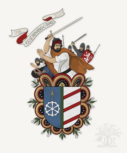 900 let mlynářského znaku © Genealogie Jihočeské rody 2016