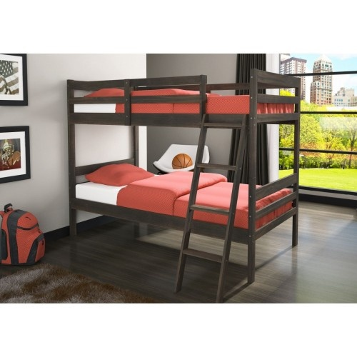 Ordered one of these for the kids.: Twin, Econo Ranch, Bunk Beds, Kids Room, Room Ideas, Rustic Walnut, Kids Bunkbeds, Donco Kids, Ranch Bunkbed