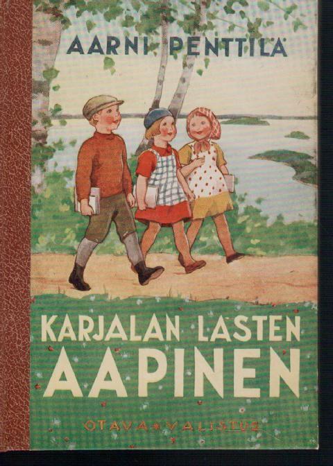 Karjalan lasten aapinen, Penttilä Aarni 1942 -Antikvaari